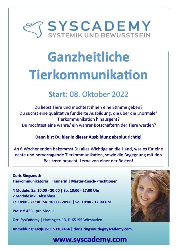 Flyer_Tierkommunikation